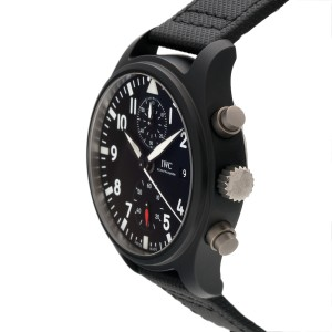 IWC Pilots IW389001 Black Ceramic Automatic 44mm Mens Watch