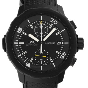 IWC Aquatimer IW379502 Rubber Coated Stainless Steel 44mm Mens Watch