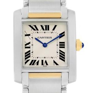 Cartier Tank Francaise W2TA0003 25mm Womens Watch