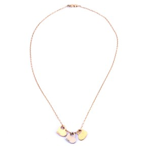 Cartier 18K Gold Hearts Necklace