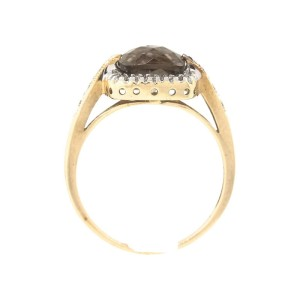 Michael C. Fina Ladies 14K Yellow Gold Diamond Ring