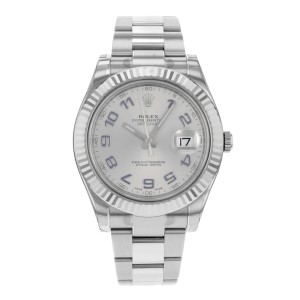 Rolex Datejust II 116334 GAO Steel & 18k White Gold Automatic Mens Watch