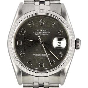 Rolex Datejust 16220 36mm Unisex Watch
