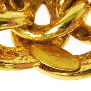 Chanel Gold Tone Hardware Coco Mark Bracelet