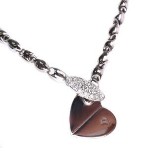 Piaget 18K White Gold Heart Diamond Necklace