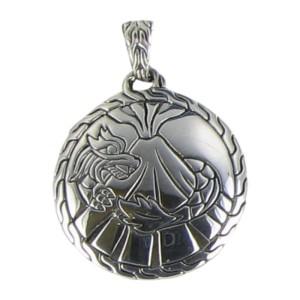 John Hardy Classic Chain 925 Sterling Silver Pendant