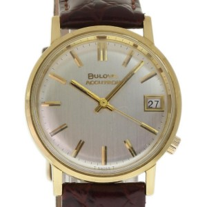 Bulova Accutron 218D 686 34mm Mens Watch
