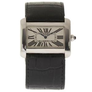 Cartier Tank Divan W6300755 38mm Mens Watch