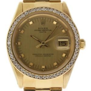 Rolex Date 1510 34mm Vintage Mens Watch