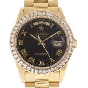 Rolex Day-date 18078 36mm Mens Watch