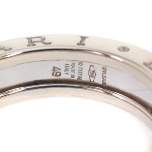 Bulgari B Zero 1 18K White Gold Ring Size 4.75