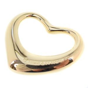 Tiffany & Co. 18K Yellow Gold Open Heart Pendant
