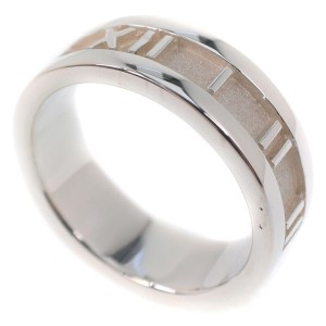 Tiffany & Co. Atlas Ring Sterling Silver Size 6