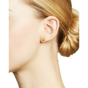 Rachel Koen 14K Yellow Gold Ball Stud Earrings 7.5mm