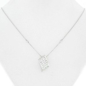 Rachel Koen 1.96cts Diamonds Pendant  18K White Gold