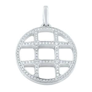 Cartier Pasha White Gold Diamond Charm Pendant 1.70 Cttw