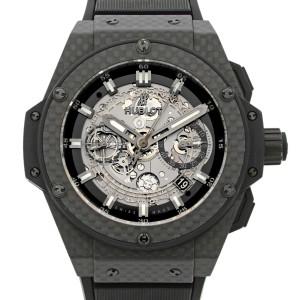 Hublot King Power Unico Carbon Fiber Titanium Automatic Watch 701.QX.0140.RX
