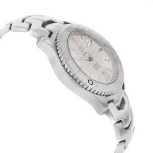 TAG Heuer Link Steel Silver Sticks Dial Automatic Mens Watch WJ201B.BA0591