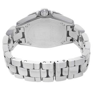 Chanel J12 Chromatic Gray Arabic Dial Ceramic Steel Automatic Unisex Watch H2934