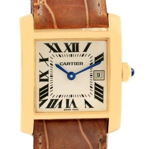 Cartier Tank Francaise W50014N2 25mm Womens Watch