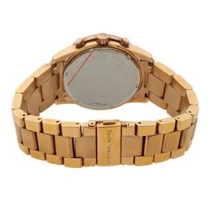 Michael Kors Mercer Rose Gold Tone Steel Salmon Dial Quartz Ladies Watch MK5727