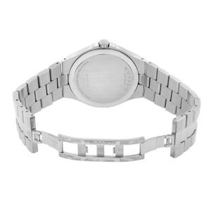 Movado Serio Museum Silver Sunray Dial Steel Mens Quartz Watch 0606556