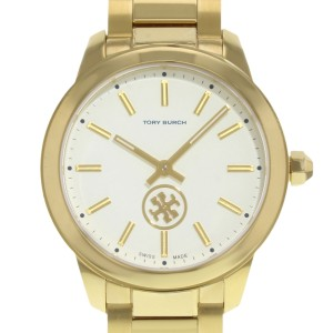 Tory Burch Collins Series Gold Tone Steel Quartz Ladies Watch TB1200