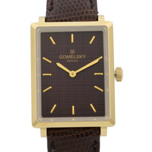Gomelsky Shirley Fromer Brown Dial Quartz Ladies Watch G0120065832