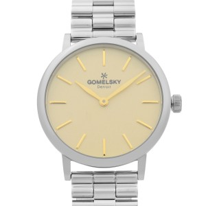Gomelsky Agnes Varis  Steel Beige Dial Quartz Ladies Watch G0120023284