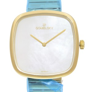 Gomelsky Eppie Sneed Steel MOP Dial Quartz Ladies Watch G0120089478