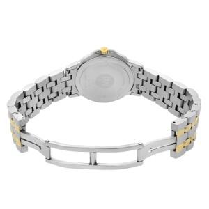 Raymond Weil Tango Two Tone Steel Checkered Silver Dial Quartz Ladies Watch 5360