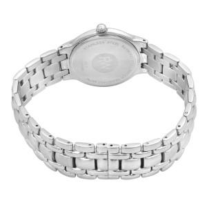 Raymond Weil Parsifal Steel White Roman Dial Quartz Ladies Watch 8810-SSR