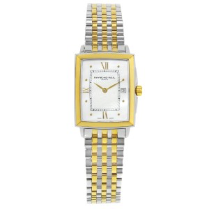 Raymond Weil Tradition MOP Ion Plated Steel Quartz Ladies Watch 5956-STP-00915