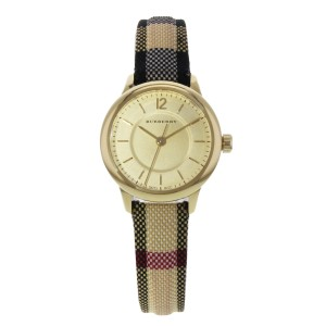 Burberry BU10201 26mm Honey Dial Stainless Steel Gold Tone Quartz Ladies Watch
