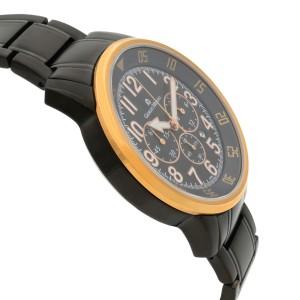Giorgio Milano Stainless Steel Chronograph Mens Quartz Watch GM854RGL-BK