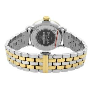 Shinola Runwell Two Tone Mother of Pearl Dial Quartz Ladies Watch 10000237