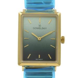 Gomelsky Shirley Fromer Steel Green Dial Quartz Womens Watch G0120147282