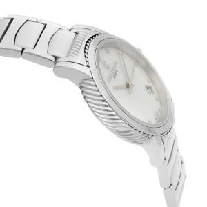 Charriol Parisii Steel Diamond White MOP Dial Quartz Ladies Watch P33S2.920.001