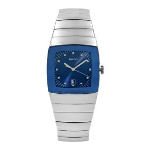 Rado Sintra High -Tech Ceramic Blue Dial Quartz Mens Watch R13810202