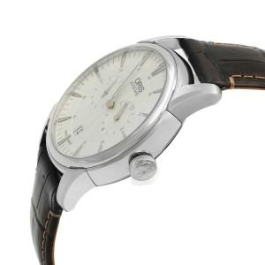 Oris Artelier Regulateur Steel Leather White Dial Automatic Watch 01 749 7667