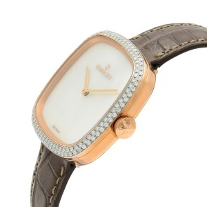 Gomelsky Eppie Sneed Steel Mother of Pearl Dial Diamond Womans Watch G0120095033