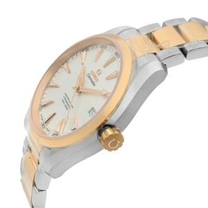 Omega Aqua Terra Steel Rose Gold Automatic Mens Watch 231.20.42.21.02.001