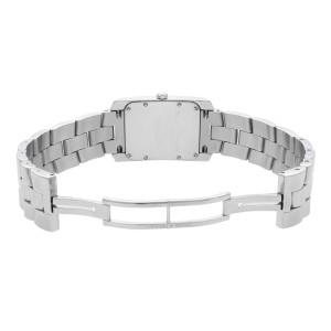 Baume et Mercier Hampton Milleis Steel Silver Dial Quartz Mens Watch M0A08014