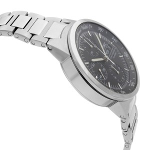IWC GST Day-Date Stainless Steel Black Dial Automatic Mens Watch IW370708
