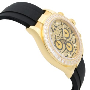 Rolex Cosmograph Daytona Eye of the Tiger Diamond 18k Gold Watch 116588TBR-0003