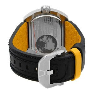 Seven Friday W-Series The Blade Steel Leather Automatic Mens Watch W1/01