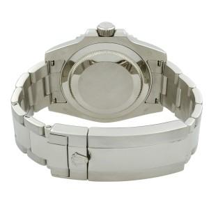 Rolex Submariner 40mm Smurf 18K White Gold Ceramic Blue Dial Mens Watch 116619