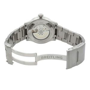 Breitling Navitimer 8 Unitime Steel Silver Dial Watch AB3521U01/G1A1-188A