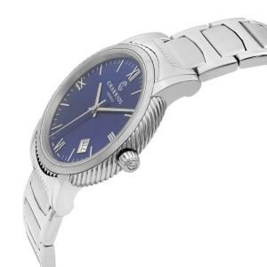Charriol Parisii Stainless Steel Blue Dial Quartz Mens Watch P40S2.930.002