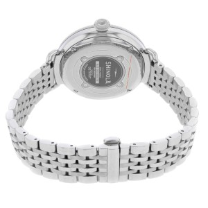 Shinola The Canfield 38mm Nude Dial Steel Quartz Ladies Watch 20004466